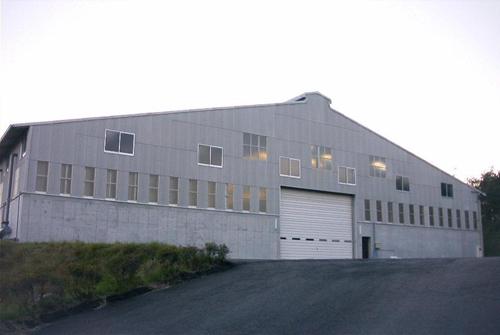 汚泥処理工場外観写真
